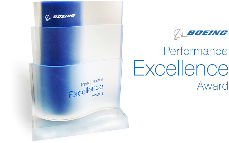 Boeing Performance Excellence Award – 2017